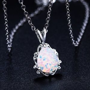 Opal Water Drop Pendent